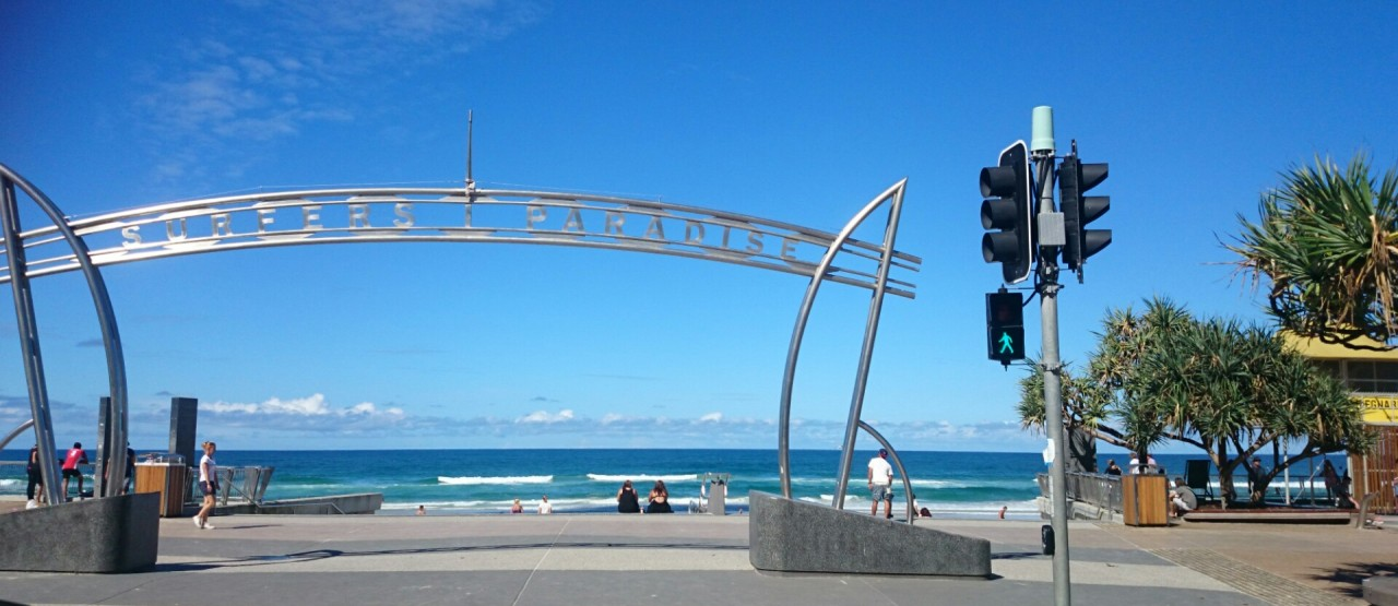 Surfer's Paradise in Gold Coast, Queensland